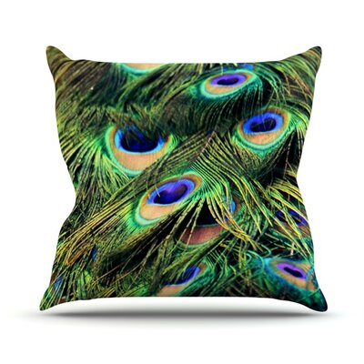 You Are Beautiful Throw Pillow Size: 16 H x 16 W