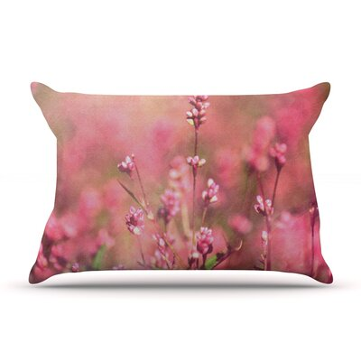 Its a Sweet Sweet Life by Robin Dickinson Featherweight Pillow Sham Size: King, Fabric: Woven Polyester
