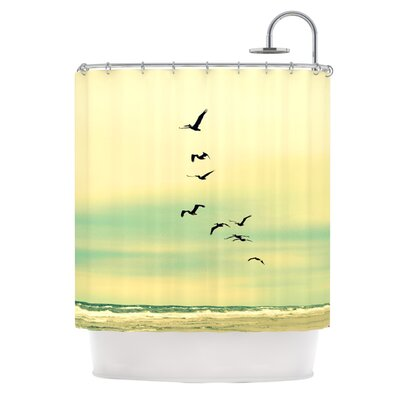 Across The Endless Sea Shower Curtain