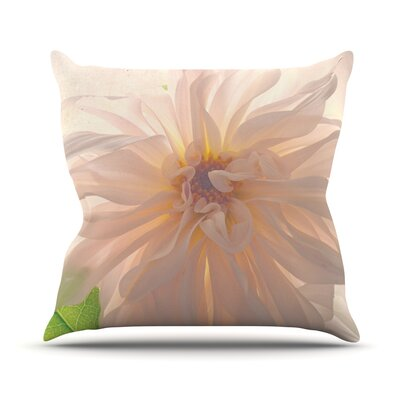 Buy Her Flowers Throw Pillow Size: 16 H x 16 W