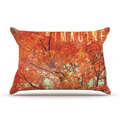Imagine by Robin Dickinson Featherweight Pillow Sham Size: King, Fabric: Woven Polyester