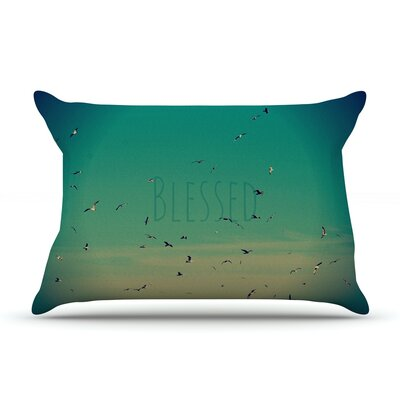 Blessed by Robin Dickinson Featherweight Pillow Sham Size: King, Fabric: Woven Polyester