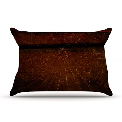 Robin Dickinson 'Dark Web' Pillow Case