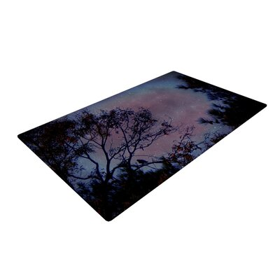Twilight Tree Novelty Rug Rug Size: 4 x 6