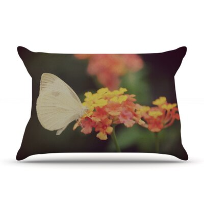 Captivating by Robin Dickinson Featherweight Pillow Sham Size: King, Fabric: Woven Polyester