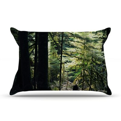 Enchanted Forest by Robin Dickinson Featherweight Pillow Sham Size: Queen, Fabric: Woven Polyester