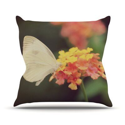 Captivating Throw Pillow Size: 18 H x 18 W