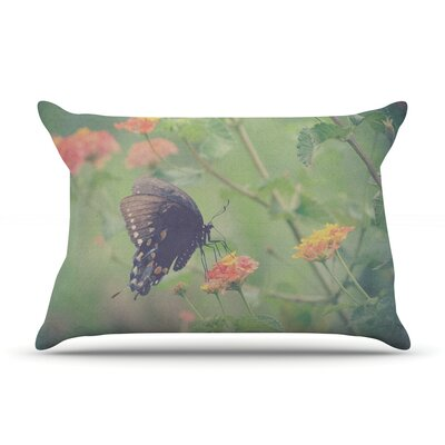 Captivating II by Robin Dickinson Featherweight Pillow Sham Size: King, Fabric: Woven Polyester