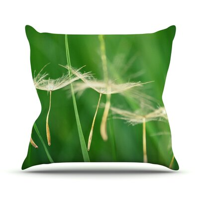 Best Wishes Throw Pillow Size: 16 H x 16 W