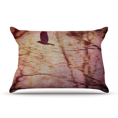 Midnight Dreary Pillow Case Size: King