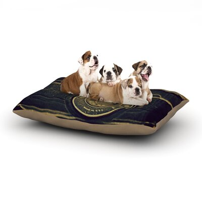 Robin Dickinson Discarded Treasure Camera Dog Pillow with Fleece Cozy Top Size: Small (40 W x 30 D x 8 H)