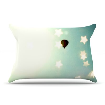 Amongst The Stars by Robin Dickinson Featherweight Pillow Sham Size: Queen, Fabric: Woven Polyester