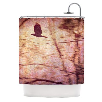 Midnight Dreary Shower Curtain