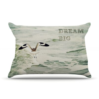 Dream Big by Robin Dickinson Featherweight Pillow Sham Size: Queen, Fabric: Woven Polyester