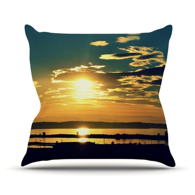 Conquer Your World by Robin Dickinson Throw Pillow Size: 18 H x 18 W x 3 D