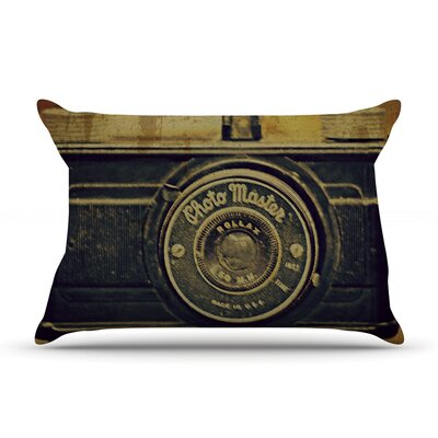 Discarded Treasure by Robin Dickinson Featherweight Pillow Sham Size: King, Fabric: Woven Polyester