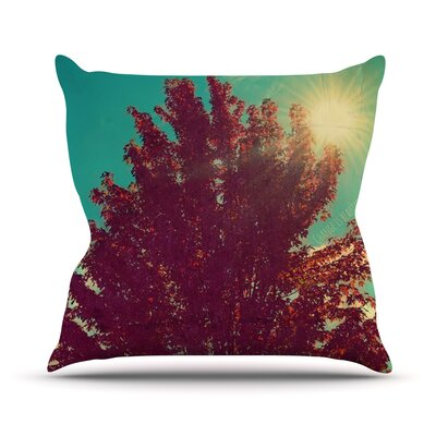 Change Is Beautiful Throw Pillow Size: 16 H x 16 W