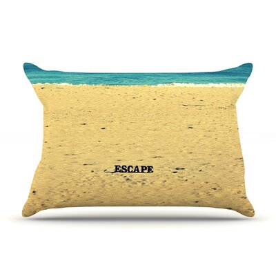 Robin Dickinson Escape Beach Pillow Case