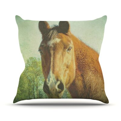 CT by Robin Dickinson Throw Pillow Size: 18 H x 18 W x 3 D