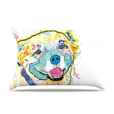 Milo by Rebecca Fischer Featherweight Pillow Sham Size: Queen, Fabric: Woven Polyester