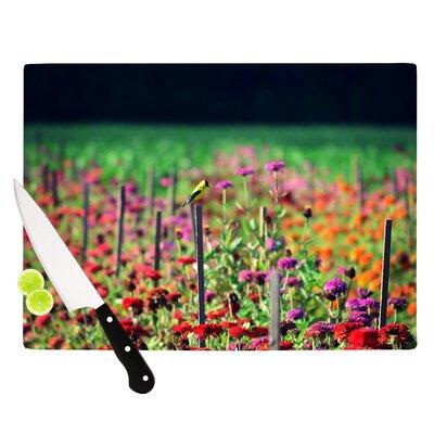 Kitchen-Live in The Sunshine Cutting Board Size 11.5 H x 15.75 W x 0.15 D