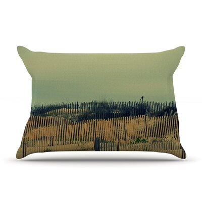 Carova Dunes by Robin Dickinson Featherweight Pillow Sham Size: Queen, Fabric: Woven Polyester