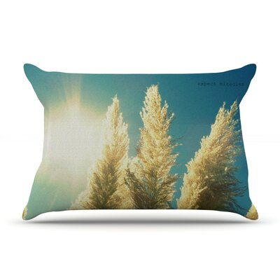 Ornamental Grass by Robin Dickinson Featherweight Pillow Sham Size: King, Fabric: Woven Polyester