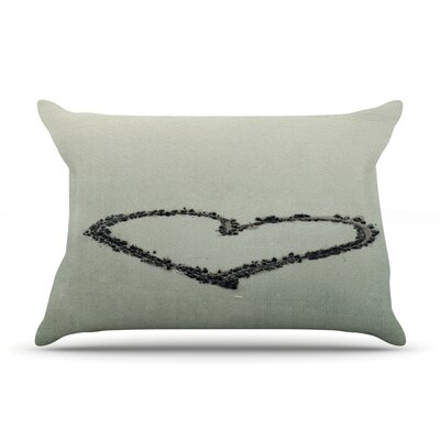Robin Dickinson I Love The Beach Ocean Pillow Case