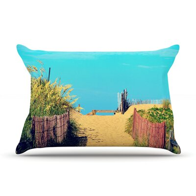 Robin Dickinson 'Simplify' Beach Sky Pillow Case