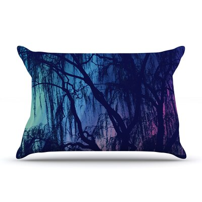 Weeping by Robin Dickinson Featherweight Pillow Sham Size: King, Fabric: Woven Polyester