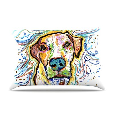 Ernie by Rebecca Fischer Featherweight Pillow Sham Size: Queen, Fabric: Woven Polyester