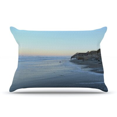 Robin Dickinson Sand Surf Sunshine Beach Pillow Case