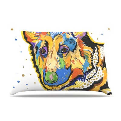Floyd by Rebecca Fischer Featherweight Pillow Sham Size: King, Fabric: Woven Polyester