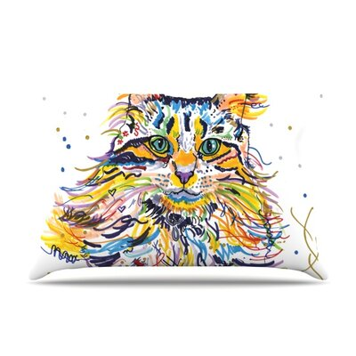 Leo by Rebecca Fischer Featherweight Pillow Sham Size: King, Fabric: Woven Polyester
