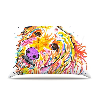 Koda by Rebecca Fischer Featherweight Pillow Sham Size: Queen, Fabric: Polyester