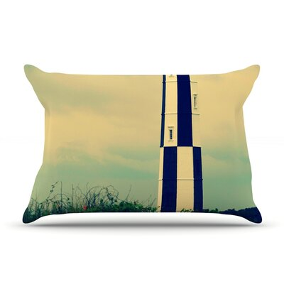 Robin Dickinson New Cape Henry Lighthouse Pillow Case