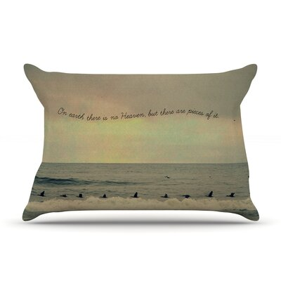 Robin Dickinson 'Pieces Of Heaven' Beach Pillow Case
