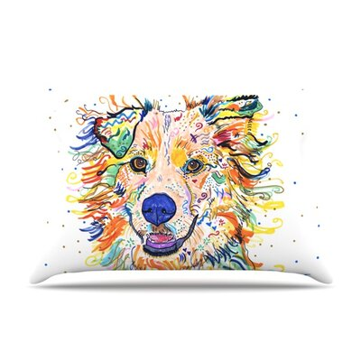 Jess by Rebecca Fischer Featherweight Pillow Sham Size: King, Fabric: Woven Polyester