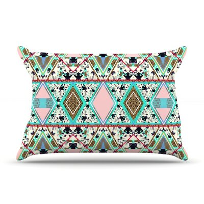 Deco Hippie by Vasare Nar Featherweight Pillow Sham Size: King, Fabric: Woven Polyester