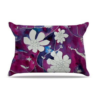 Succulent Dance III by Theresa Giolzetti Featherweight Pillow Sham Size: King, Fabric: Woven Polyester