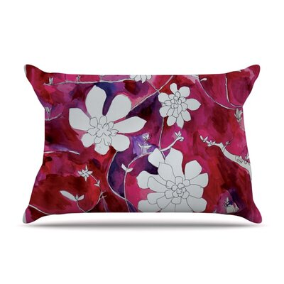 Succulent Dance II by Theresa Giolzetti Featherweight Pillow Sham Size: Queen, Fabric: Woven Polyester