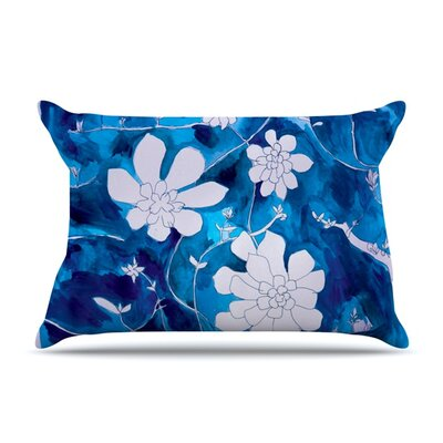 Succulent Dance 1 by Theresa Giolzetti Featherweight Pillow Sham Size: Queen, Fabric: Woven Polyester