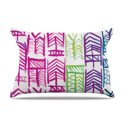 Quiver III by Theresa Giolzetti Featherweight Pillow Sham Size: Queen, Fabric: Woven Polyester