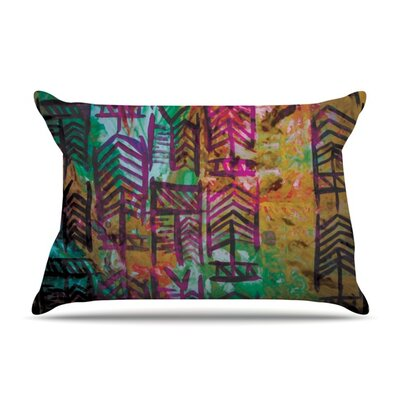 Quiver IV by Theresa Giolzetti Featherweight Pillow Sham Size: King, Fabric: Woven Polyester