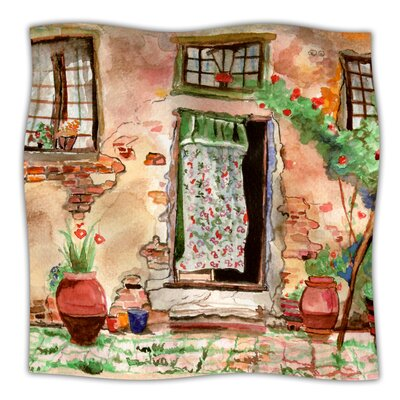 Tuscan Door Throw Blanket Size: 40 L x 30 W
