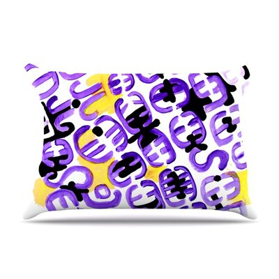Theodoras Attitude by Theresa Giolzetti Featherweight Pillow Sham Size: Queen, Fabric: Woven Polyester