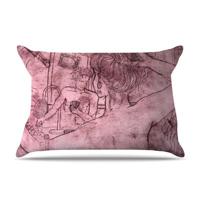 Magic Tricks Pillow Case Size: King