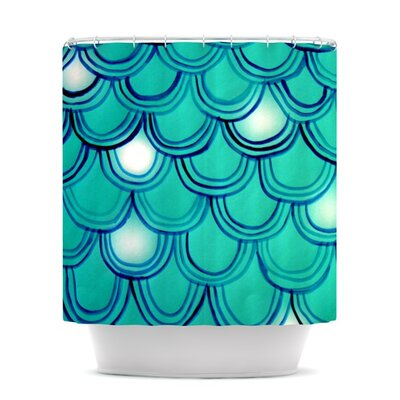 Shower Curtain Color: Mermaid Tail