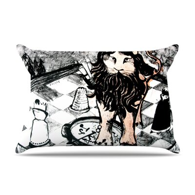 King Leo by Theresa Giolzetti Featherweight Pillow Sham Size: Queen, Fabric: Woven Polyester