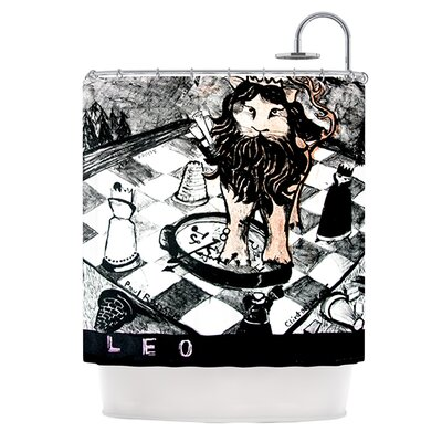 King Leo Shower Curtain